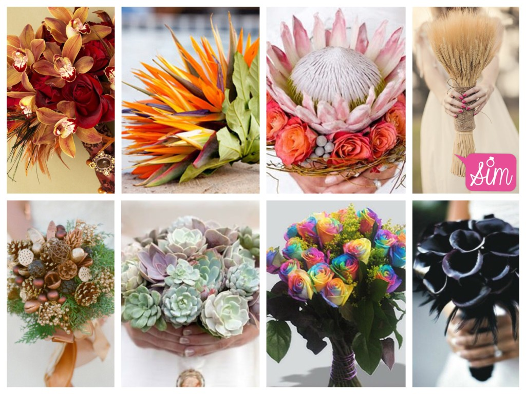 Buquê flores raras