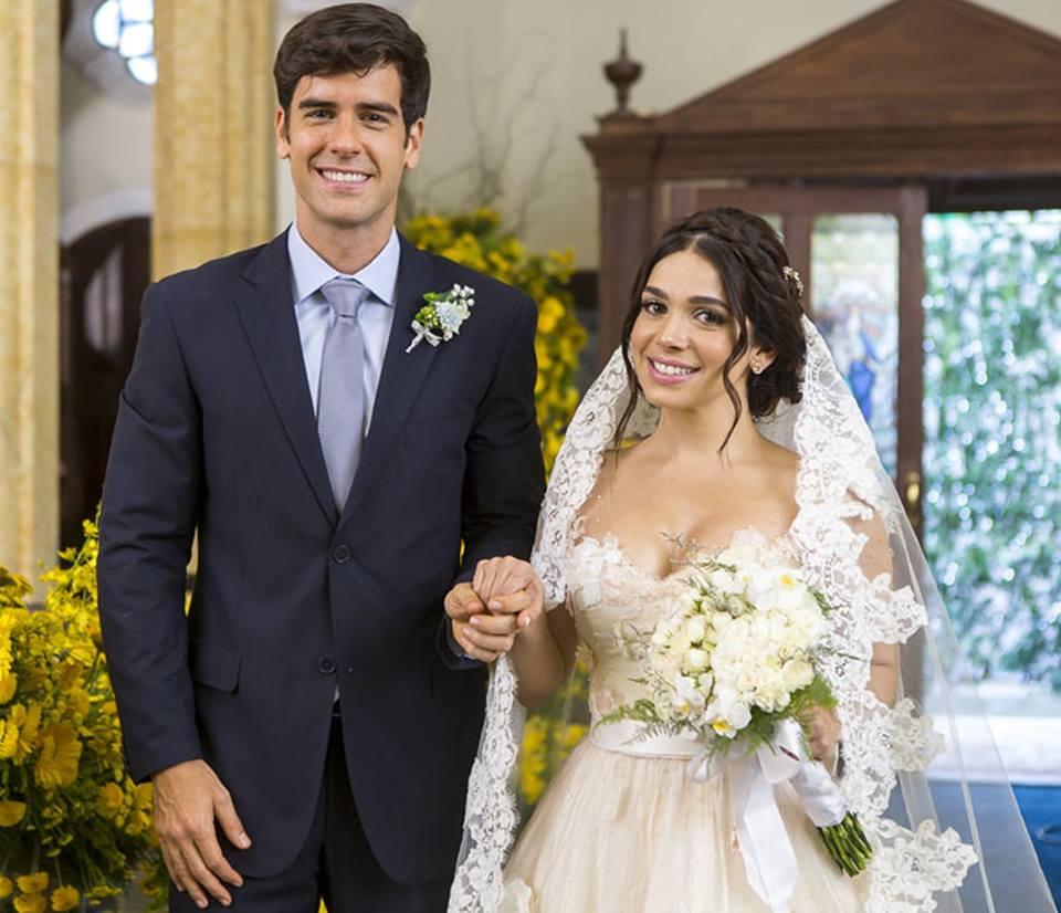 casamentos de Haja Coração shirlei, vivida pela atriz Sabrina Petaglia
