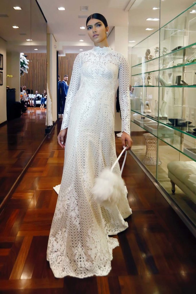 Vestido de noiva da coleção Nas Nuvens de Lucas Anderi